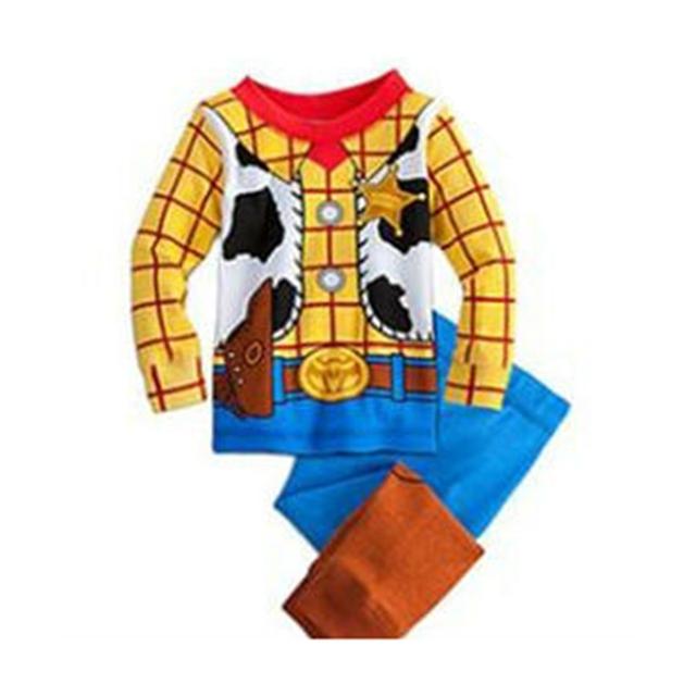 Primavera 2016 West Cowboy Conjunto de Roupas de Bebê Menino Pijamas Roupas Infantis Menino Roupa Dos Miúdos Da Criança Meninos Roupas Crianças Terno