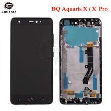 5.2 inch Black / White 100% New Full LCD DIsplay+Touch Screen Digitizer Assembly Replacement For BQ Aquaris X / Aquaris X Pro