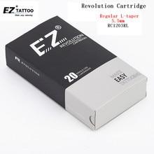 EZ الوشم الإبر الثورة خرطوشة الإبر بطانة مستديرة #12 (0.35 مللي متر) L تفتق 5.5 مللي متر ل ماكينة دوارة و قبضة 20 قطعة/الوحدة