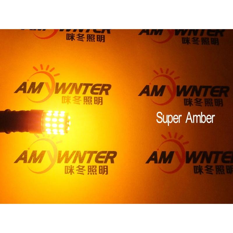Högeffekt W16W-lampor W5W T10 LED 194 921 3014leds WY16W LED-lampor - Bilbelysning - Foto 5