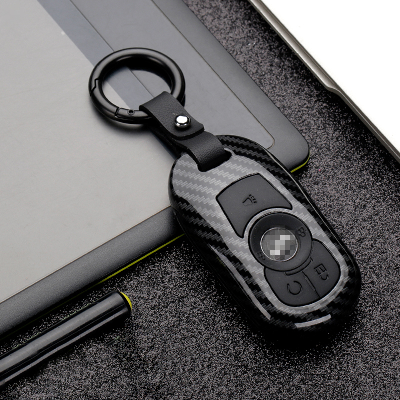 Image 4 - Hot ABS+Silica gel Carbon fiber Car Remote Key Case Cover For OPEL Astra Buick ENCORE ENVISION NEW LACROSSE Material Durability-in Key Case for Car from Automobiles & Motorcycles