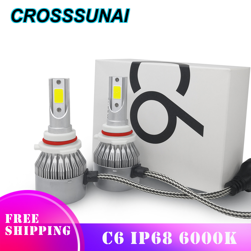 Nice 2 Pcs Car-styling Car H4 H7 Led Headlights Sourcing Bulb Hb1 9004 Hb3 9005 Hb4 9006 H13 H27 880 H3 H8 H9 H11 H1 Led H7 H4 Car Lights Automobiles & Motorcycles