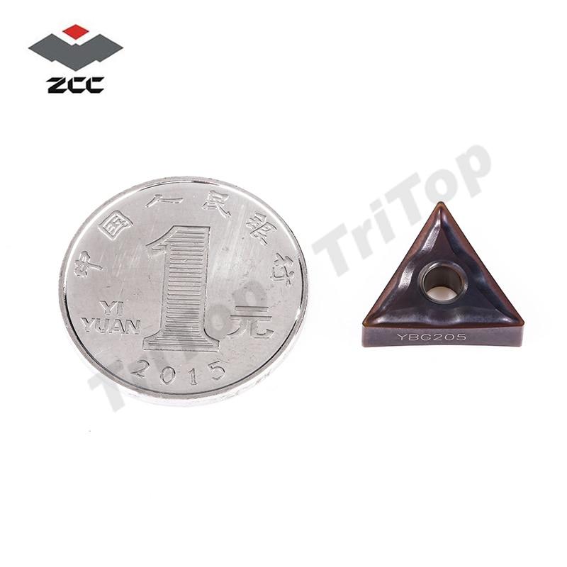 TNMG160404 -EF YBG205 ZCC.CT UTENSILE da taglio inserti per tornitura - Macchine utensili e accessori - Fotografia 2