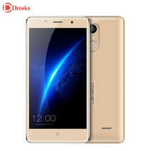Leagoo M5 5.0 pulgadas HD Android 6.0 MTK6580 Quad A Core 2 GB Marco de Metal 3G RAM 16 GB ROM 8MP GSM/WCDMA Teléfono Móvil de Huellas Digitales