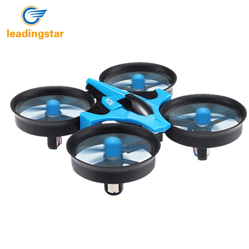 Mini Drone H36 RC Quadcopter 2.4G 6-Axis Gyro 4 Channels LED Headless Mode One Key Return RC Helicopters Dron Toys Pocket Drones (2)