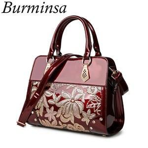 Burminsa Women Handbags Female Shoulder Bags Ladies 9a21cdf640