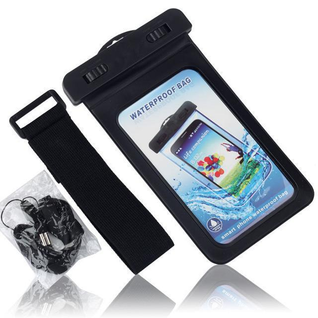 finest selection 3eb09 b0825 US $4.5 |PVC Waterproof Phone Case Underwater Phone Bag For 4.5