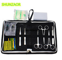 Medical Science Aids Training Surgical Instrument Tool Kit Surgical Suture Package Kits Set For Student