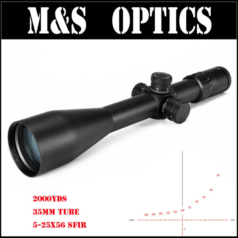 MARCOOL ALT ZA3 5-25X56 SF IR 35MM Tube Red Iluminated Hunting Tactical Gun Scopes Optics Sight Riflescopes For Rifles marcool alt za3 5 25x56 sfir riflescope