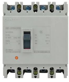 Expédition rapide NM1-200/4300B 200A 380 V 4 pôles pas de protection contre les fuites ELCB RCD disjoncteur de fuite à la terre courant résiduel