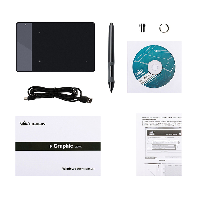 Huion Professional Pen Graphics Drawing Tablet Signature Pad