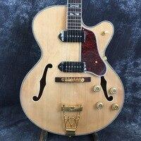 100% Gerçek Resimler G L5 Caz Hollow Gitar Özel Gitar & Vücut Mevcut ücretsiz kargo