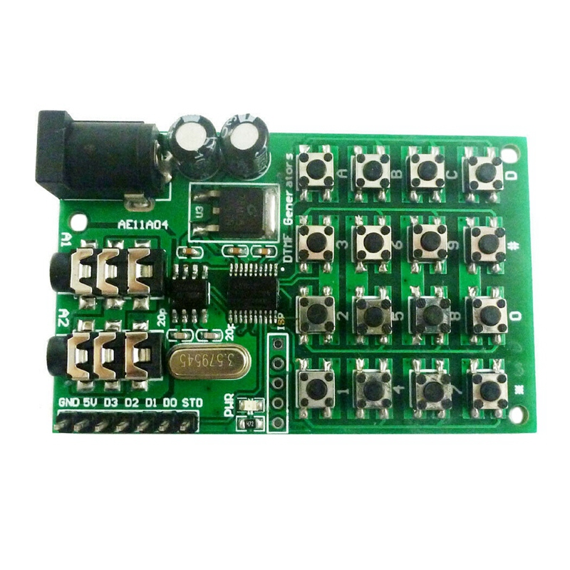 Keypad Dtmf Generator Module Audio Encoder Transmitter Board for Arduino Uno Pro