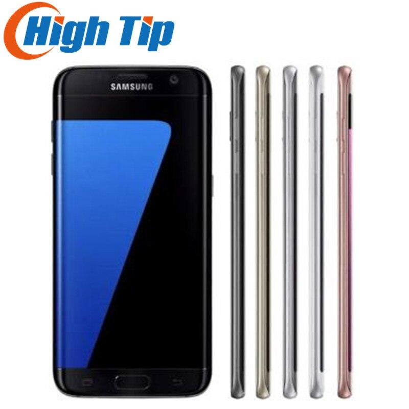 Téléphone portable Original débloqué Samsung Galaxy S7 edge Duos G935FD double Sim LTE Octa Core 5.5