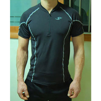 2015 Linien Compression Base Layers Mens Casual T-Shirt Kurzarm Skins - Herrenbekleidung - Foto 4