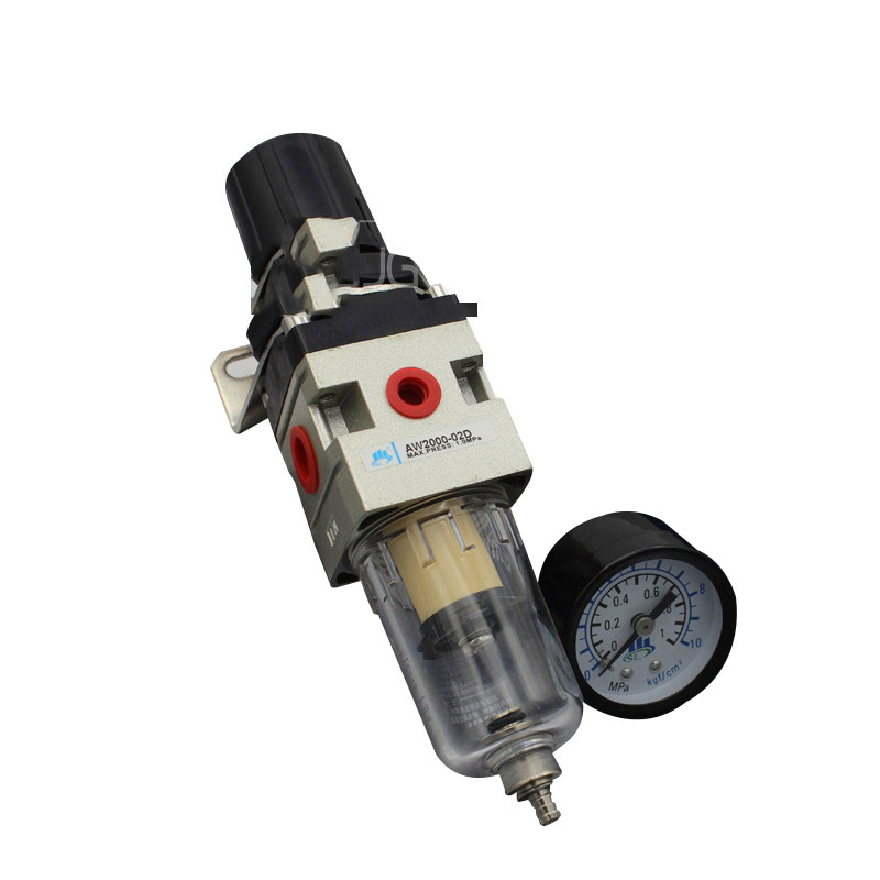 Same As Picture Pneumatic air filter regulator AW2000-02 1/4 inch SMC type air treatment unit with Copper cartridge Manual drain подвесная люстра st luce buld sl299 053 03