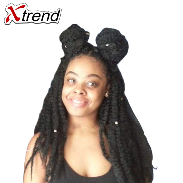 Xtrend 18inch 20stands Afro Kinky Twist Hair Crochet Braids For ...