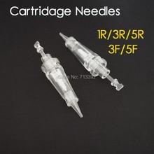 30pcs (Bayonet Port) Sterilized Makeup Eyebrow Needles Permanent Makeup Machine Needles