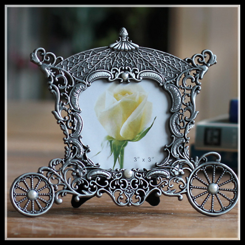 metal vintage picture frames classic picture photo frame small europe mini photo frames home decor free