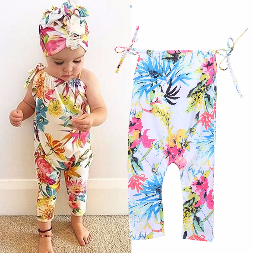 Floral baby girl romper newborn baby clothes tiny cottons infantil new baby girl romper summer romper infant toddler 2017 2pcs set newborn floral baby girl clothes 2017 summer sleeveless cotton ruffles romper baby bodysuit headband outfits sunsuit