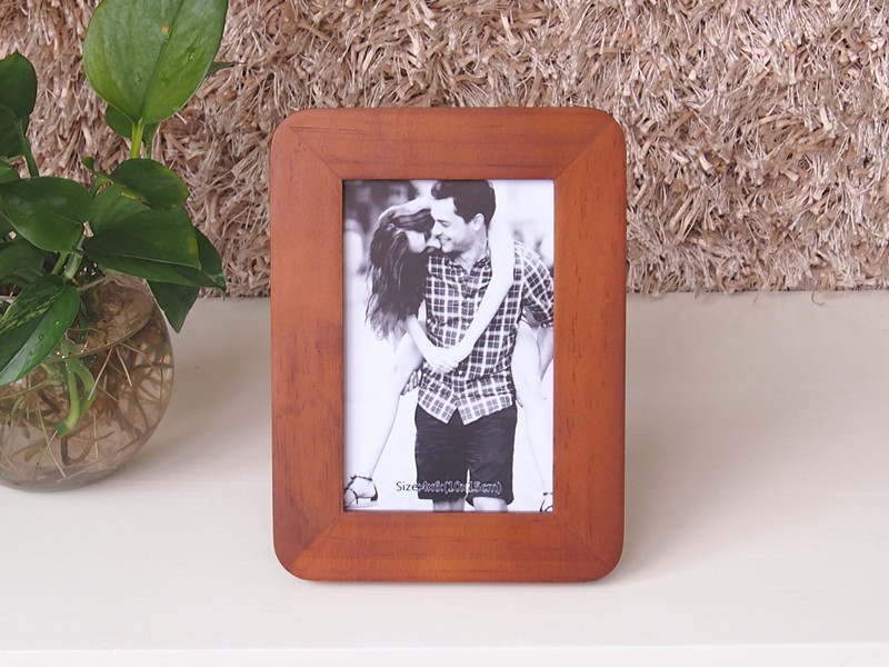 popular pine wooden photo frame home decoration gift 4x6 inch