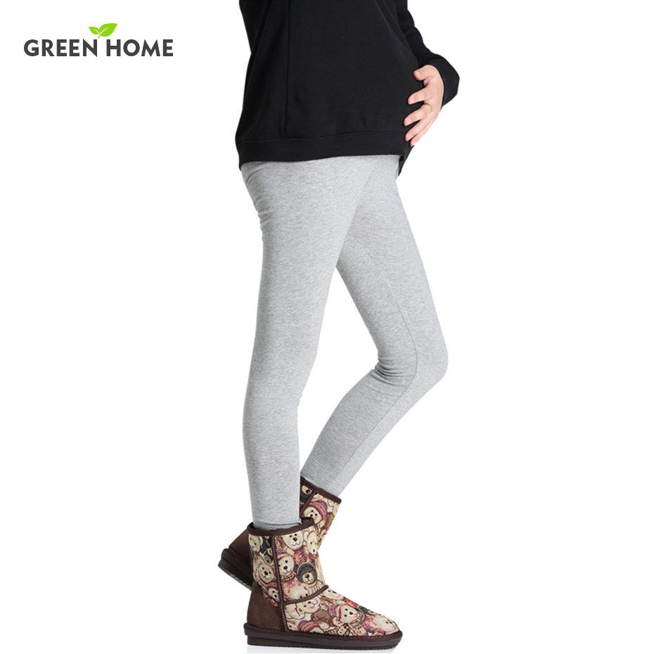 New 100 Cotton Women Pregnant Leggings Adjustable High Elasticity Maternity Leggings Pregnant Pants for Winter Maternity