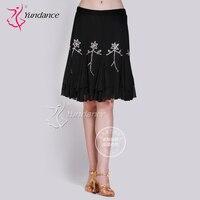 Customized Lady Latin Dancing Skirt Modern Dance Costume Adult And Kids Samba Cha Cha Rumba Dancing