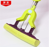 Stainless steel sponge suction mop roller, squeeze water mop mail