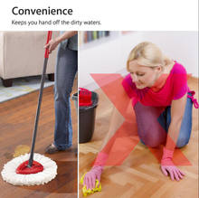 Одна часть Spin Mop Easy Clean Mopping Wring сменные головки для Vileda O-Cedar(China)