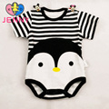 Nueva moda infantil de algodón recién nacido del mameluco de los niños de dibujos animados bebé de estilo trajes de verano para los bebés y niños ropa