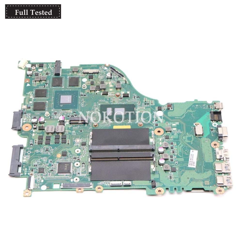 NOKOTION DAZAAMB16E0 NBGFJ11003 Main board For font b Acer b font aspire E5 575 E5 575G