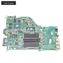 NOKOTION DAZAAMB16E0 NBGFJ11003 Main board For Acer aspire E5-575 E5-575G laptop motherboard SR2ZV I7-7500U CPU Geforce GTX950M