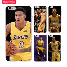 Haoweiming Kyle Kuzma TownsSilicone Soft TPU Cover Case For iphone X 4 4S 5 5S SE 6 6S 7 8 Plus #H1043