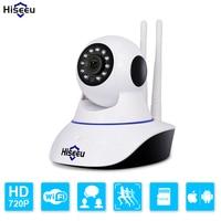 Double Wireless IP Camera Wifi PT Home Security Camera HD Cctv Camera P2P Camera TF Card