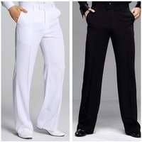 Hot Selling Male Latin Dancing Pants High Quality 2 Colors Pant For Chacha Rumba Professional Men Ballroom Dancing Trousers 7027