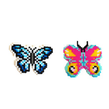 1 Pc Creative Plastic Erfly Beans Template Diy Toys For Children Cartoon Puzzle Baby Kids Educational Game Gifts
