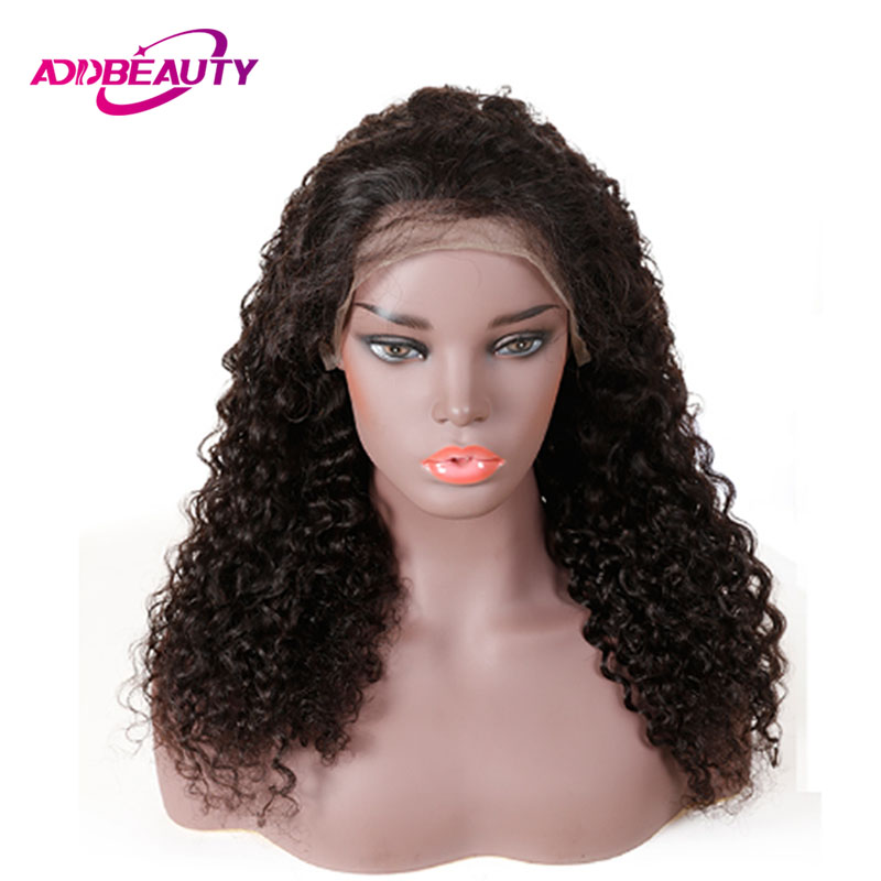 13x6 Swiss Lace Front Wig For Black Women Water Wave Brazilian Human Remy Hair Natural Color
