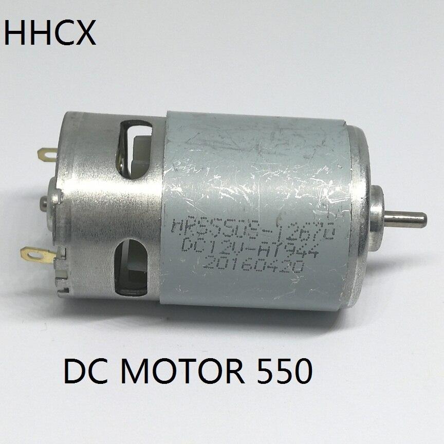 1PCS 6VDC-12VDC micro motor 550 DC motor RS-550 for Electric drill Micro generator 11000rpm