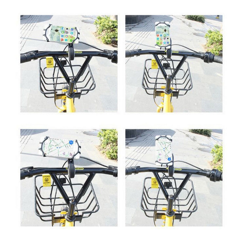 Universal Stroller blackbike phone holder Motorcycle Bicycle Bike MTB Handlebar Phone Holder Baby Car Stroller Mount Stand (9)