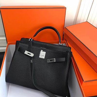 Luxury Fashion Classic Togo Leather Genuine Leather Women Bag Handbag Ladies' Purse Bag 25cm 28cm 32cm Original Quality by Ciartuar