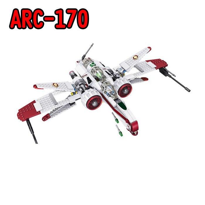 35004 Star Wars Space Battle Captain Jag Clone Pilot R4-P44 ARC-170 Fighter Assembled Building Brick Blocks Set with Legoed Toys джинсы мужские g star raw 604046 gs g star arc