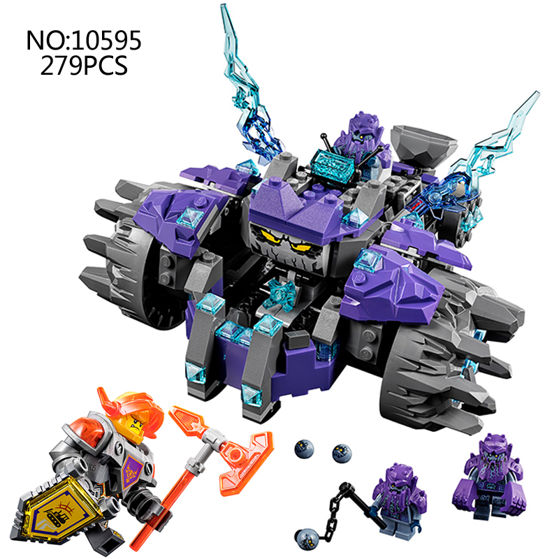 2018 NEW Nexus Knights Building Blocks set The Three Brothers Kids gift bricks toys compatible with 14028 70350 недорого