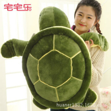 60cm Cute turtle cushion pillow Tortoise plush toys Christmas / Valentine's Day gift kids toy free shipping