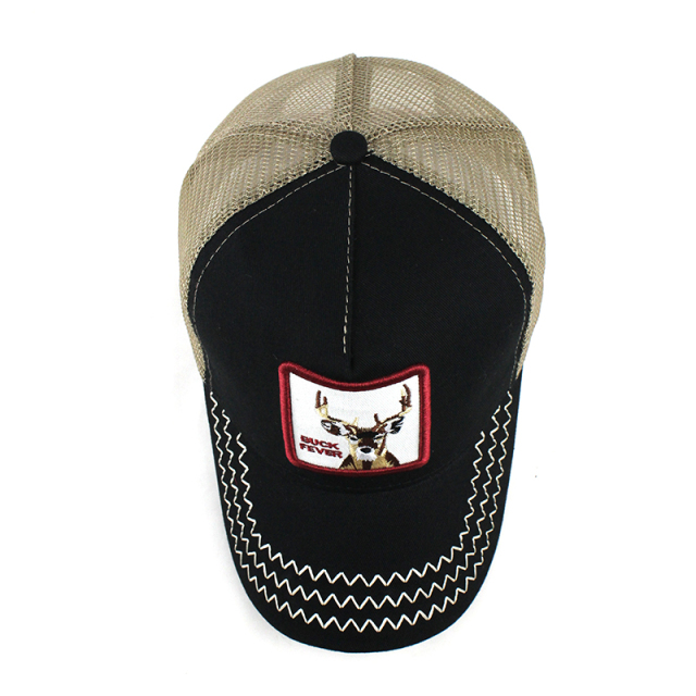 Baseball cap for men women summer mesh embroidery