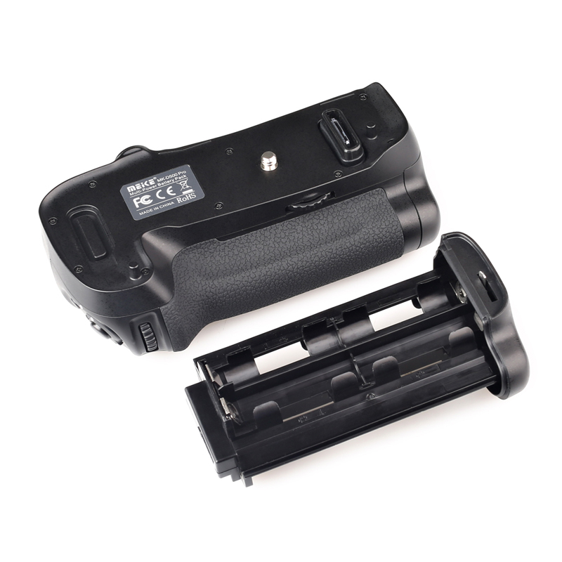 NEW Battery grip MEKE Meike MK-D500 Battery Grip for Nikon D500/D17 Camera Compatible with EN-EL15 Battery and AA Battery Holder meike mk d500 pro vertical battery grip built in 2 4ghz fsk remote control shooting for nikon d500 camera as mb d17
