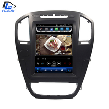 4G Vertical screen android 8.1 system car gps multimedia video radio player in dash for opel insignia car navigaton stereo