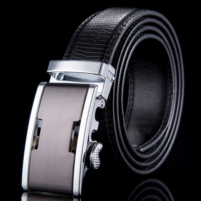2015 New mens belts luxury high quality genuine leather belts for men automatic buckle brand belt ceinture homme WN006