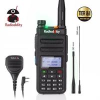 מכשיר הקשר Radioddity GD-77 Dual Band Dual זמן חריץ DMR דיגיטלי / אנלוגי שני הדרך רדיו 136-174 / 400-470MHz Ham מכשיר הקשר עם רמקול (1)