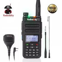 Radioddity GD-77 Dual Band Time Slot DMR Digital/Analog Two Way Radio 136-174 /400-470MHz Ham Walkie Talkie with Speaker