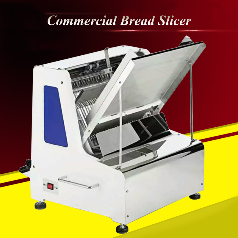 Commercial Bread Slicer Bread Cutting Machine Toast Slicing Machine High-efficient Toast Slicer Sliced Bread Machine ZB-Q31 ariete toast